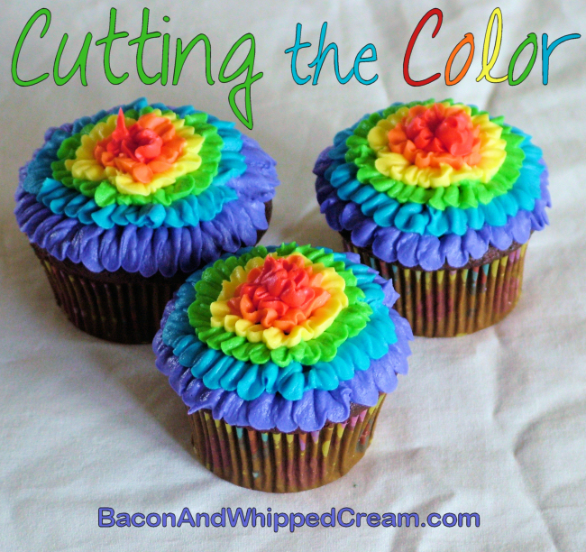 Cutting the Color - BaconAndWhippedCream.com