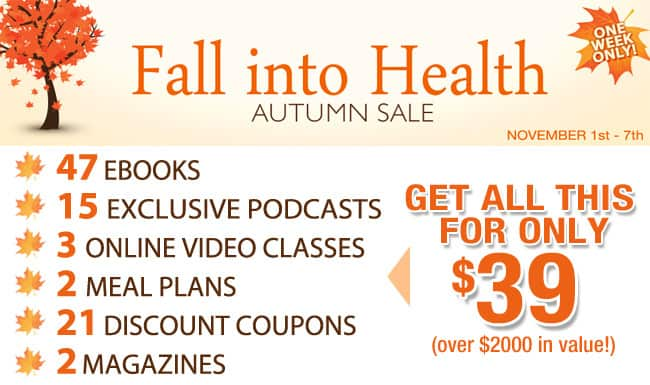 Fall Into Health Bundle ~ Bacon & Whipped Cream