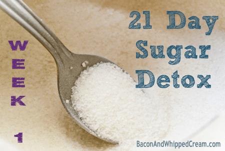 21 Day Sugar Detox - Week 1 ~ Bacon & Whipped Cream