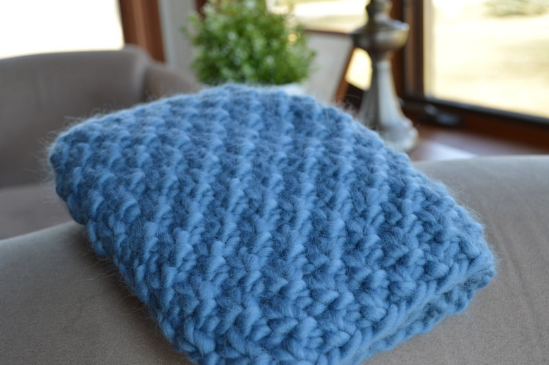 Knitted Cowl from Craftsy & Cloudborn
