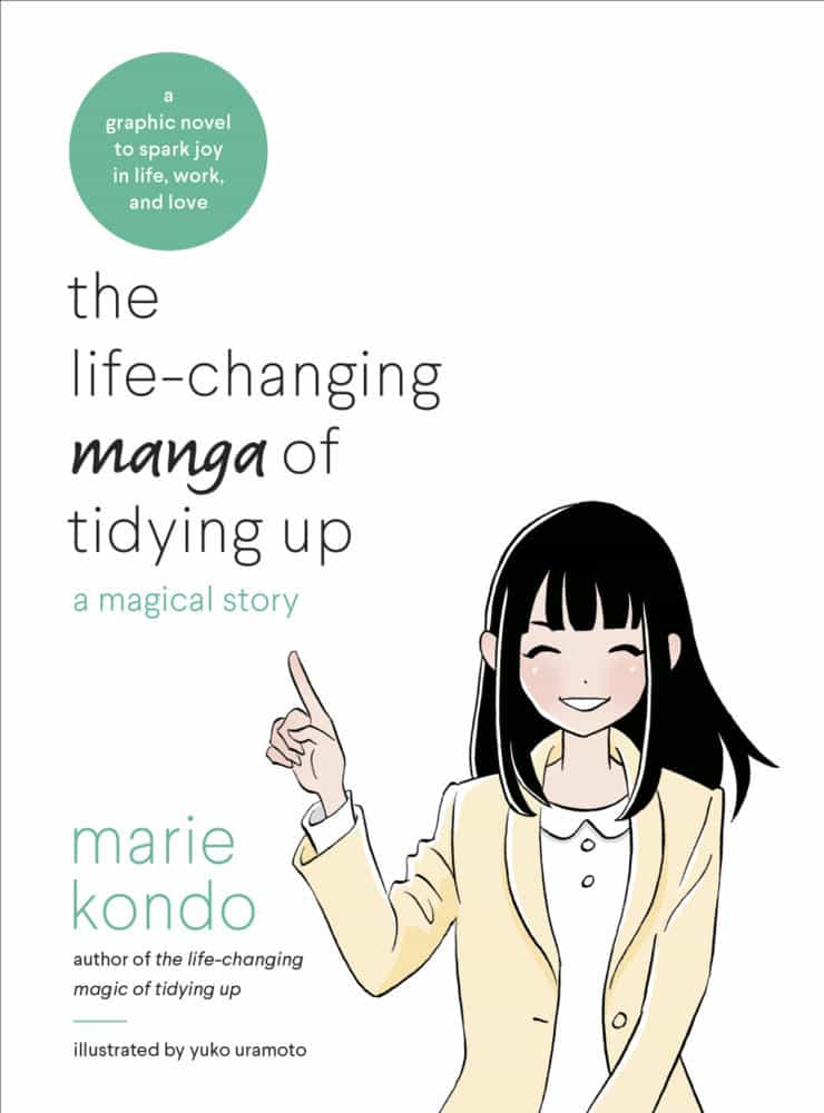 Book Review: The Life-changing Manga of Tidying Up