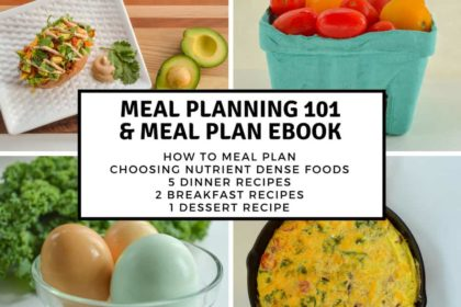 Meal Planning 101 & 1 Week Plan Ebook