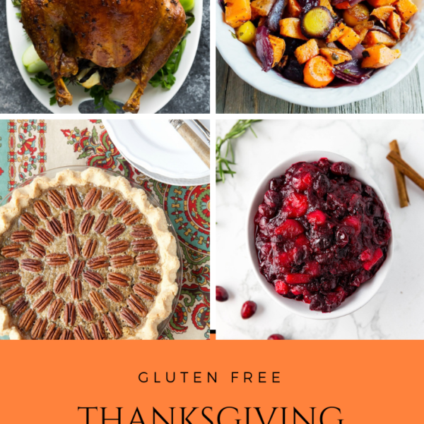Gluten Free Thanksgiving Recipe Round Up - Bacon & Whipped Cream