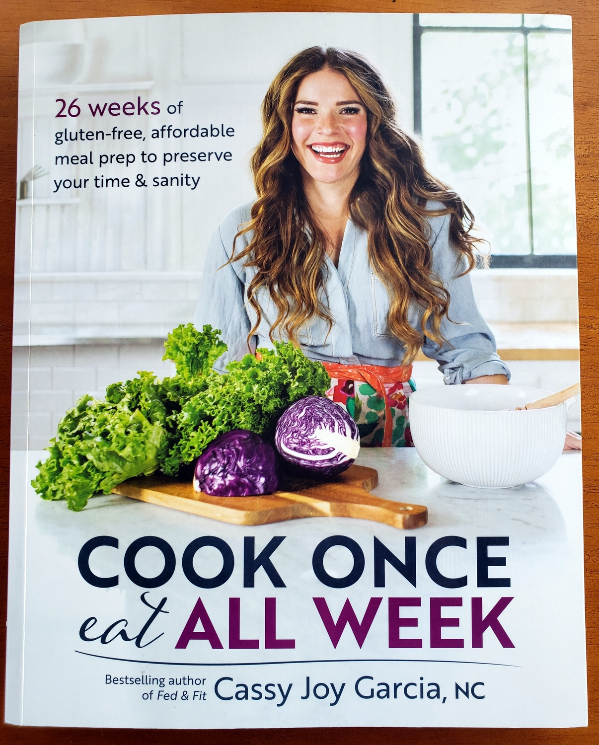 Book Review: Cook Once Eat All Week