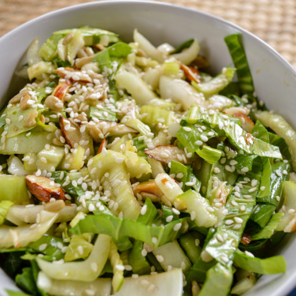 Bok Choy Salad - Simply Nourished Wellness