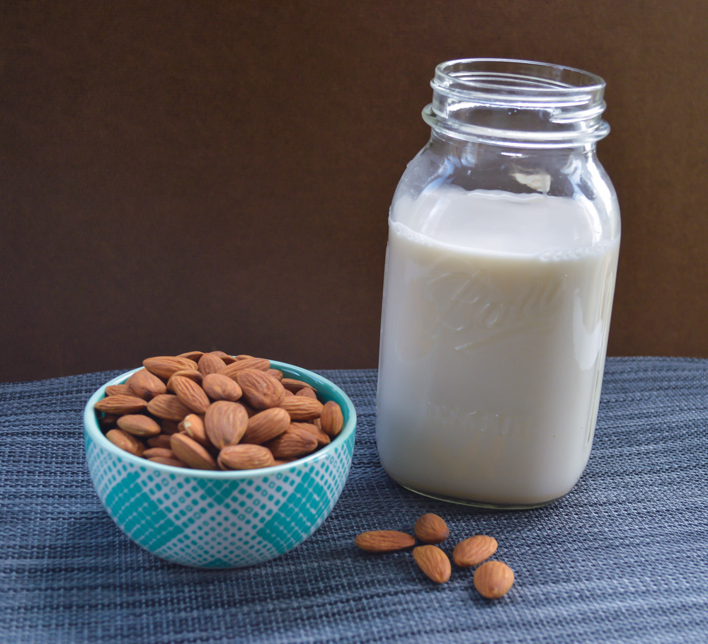 Homemade Almond Milk - Simply Nourished Wellness